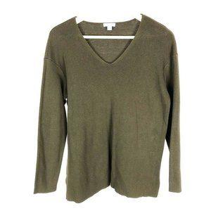 (P3-04) J Jill Women's Medium Brown Sweater